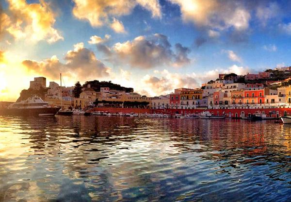 Isola di ponza 6 notti con cene passpartre passpartre for Soggiorno a ponza